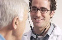 Doctor consulting man with erectile dysfunction